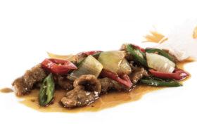 217 Manzo in salsa piccante
