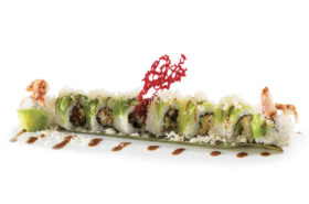 D1  Soft shell crab roll